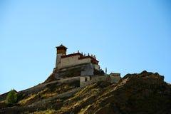Первый тибетский дворец Стоковое фото RF