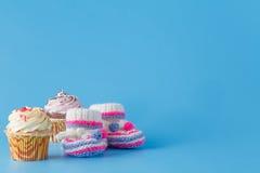 Первый шаблон приглашения дня рождения года Стоковая Фотография