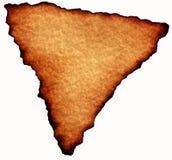 Пергаментная бумага треугольника Стоковая Фотография