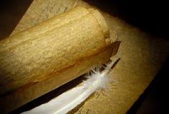 пергаменты стоковые фотографии rf