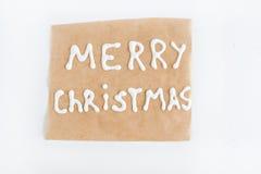 Пергамент Брайна вписанный при изолированная замороженность Стоковые Фото