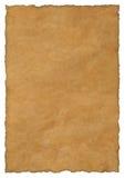 пергамент бумаги предпосылки Стоковое Изображение