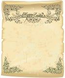 пергамент пасхи Стоковое фото RF
