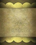 пергамент предпосылки коричневый Стоковая Фотография RF