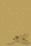 пергамент рождества 2 Стоковые Фотографии RF