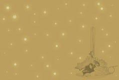 пергамент рождества Стоковое Фото