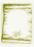 пергамент рождества иллюстрация вектора