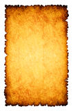 пергамент сгорели предпосылкой, котор бумажный грубый Стоковые Изображения RF