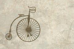 пергамент фасонируемый велосипедом старый Стоковое Изображение