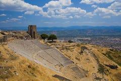Пергам - самое высокорослое threatre в мире Стоковая Фотография RF
