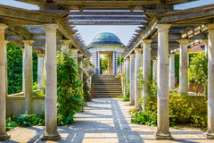 Пергола Hampstead и сад холма Стоковые Фото