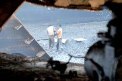 Перебивание работы Бангладеш корабля Стоковые Фото