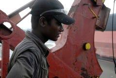 Перебивание работы Бангладеш корабля Стоковая Фотография RF