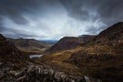 Перевал в Уэльсе стоковое фото