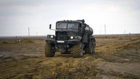 Перевезите всю местность на грузовиках Стоковое Фото