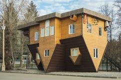 Перевернутый дом Стоковые Фото