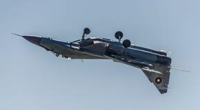 Перевернутый полет MIG-29 стоковые изображения