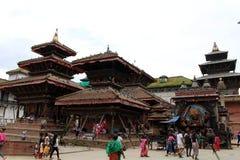 Перевод: Квадрат Катманду Durbar в центре города стоковые изображения