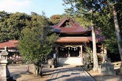 Перевод: ` Письма на ` виска Hachninomangu синтоистском в Yamaguchi, Японии Стоковое фото RF
