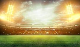 перевод стадиона 3d Стоковые Изображения RF