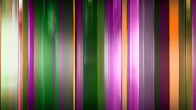 перевод 3D абстрактных тонких стеклянных панелей в космосе Панели блеск и отражают один другого Стоковые Фотографии RF