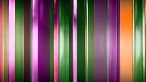 перевод 3D абстрактных тонких стеклянных панелей в космосе Панели блеск и отражают один другого Стоковые Изображения