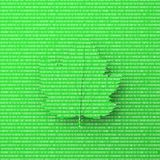 перевод 3D зеленых лист дерева иллюстрация штока