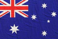 перевод 3d флага Австралии иллюстрация вектора