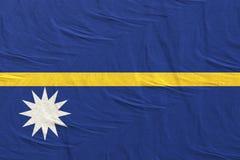 перевод 3d флага Науру бесплатная иллюстрация