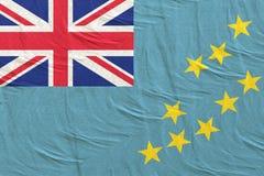 перевод 3d флага Тувалу иллюстрация штока