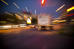 перевозить на грузовиках Стоковое Фото