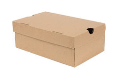 перевозка груза картона коробки закрытая Стоковое фото RF