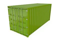 перевозка груза контейнера Стоковое фото RF