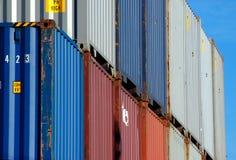 перевозка груза контейнера стоковые изображения