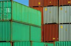 перевозка груза контейнера стоковое изображение rf