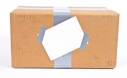 перевозка груза коробки Стоковое Изображение