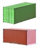 перевозка груза перевозки контейнеров Стоковые Фотографии RF