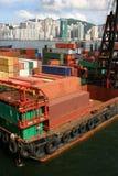 перевозка груза Hong Kong Стоковое фото RF