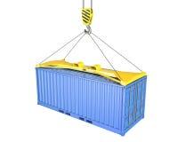 перевозка контейнера подняла распространитель Стоковые Изображения RF