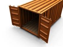 перевозка контейнера Стоковая Фотография RF