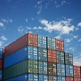 перевозка контейнеров Стоковые Изображения RF