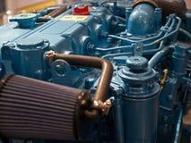 перевозка мотора двигателя предпосылки Стоковое фото RF