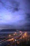 перевозка пейзажа города Стоковые Изображения RF