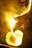 перевозка прибора жидкая стальная Стоковая Фотография RF