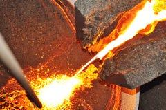 перевозка прибора жидкая стальная Стоковая Фотография