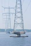перевозка электричества Стоковое Изображение RF