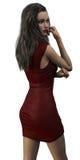 перевод 3D женщины Стоковая Фотография RF