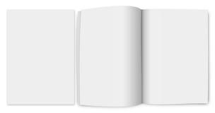 перевод 3d пустой брошюры Стоковое фото RF