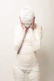 перевязанная мумия Стоковое Фото