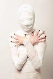 перевязанная мумия Стоковые Изображения